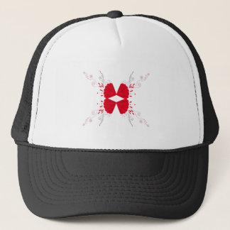 Design wings Tattoo on white Trucker Hat