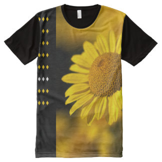 Design Yellow Daisy Shirt All-Over Print T-Shirt