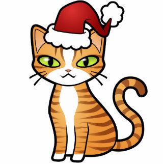 Design Your Own Cartoon Cat (Christmas) Photo Cutout