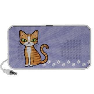 Design Your Own Cartoon Cat Portable Speaker