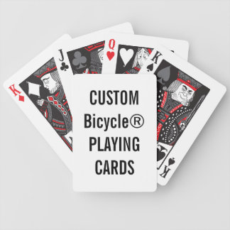 Design Your Own Custom Bicycle® Playing Cards