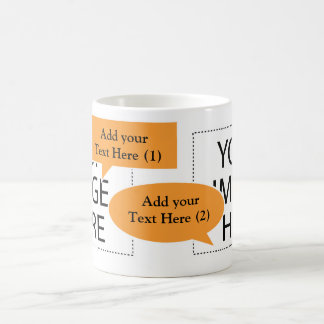 Design Your Own Custom Coffee Mug Speech Bubbles