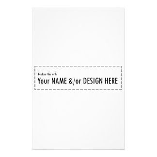 Design Your Own Custom Personalize Name Design Personalized Stationery