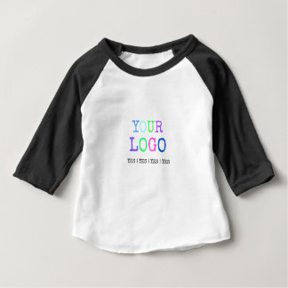 Design Your Own Custom Personalized Logo Baby T-Shirt