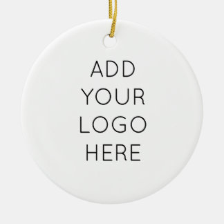 Design Your Own Custom Personalized Logo Image Christmas Ornament