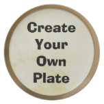 Design Your Own Dish Party Plate