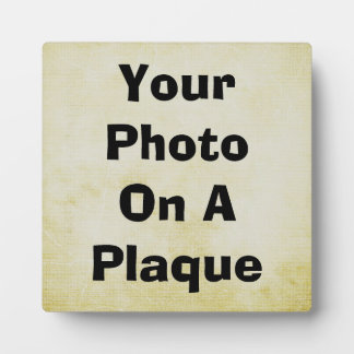 Design Your Own Display Plaque