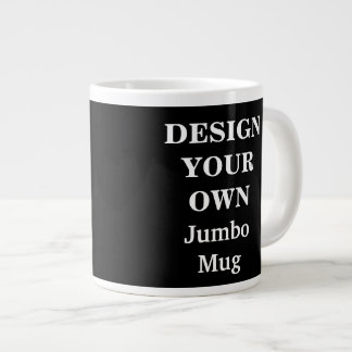 Design Your Own Jumbo Mug - Black