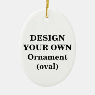 Design Your Own Ornament (oval)