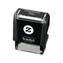 Design your own personalised one of a kind self-inking stamp