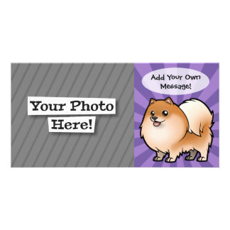 Design Your Own Pet Customized Photo Card