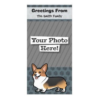 Design Your Own Pet Photo Card Template