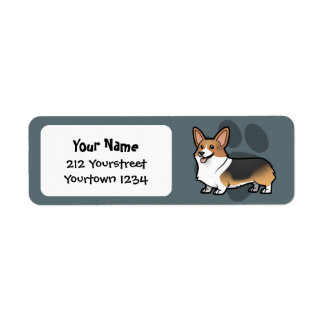 Design Your Own Pet Return Address Label