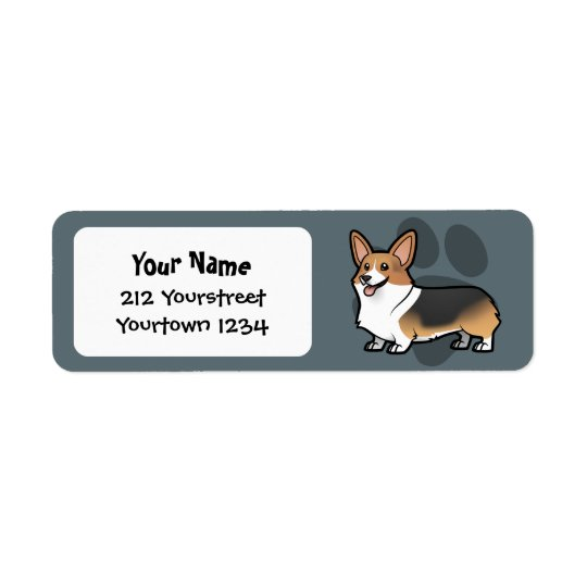 Design Your Own Pet Return Address Label