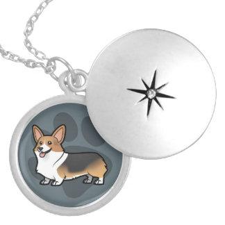 Design Your Own Pet Round Locket Necklace