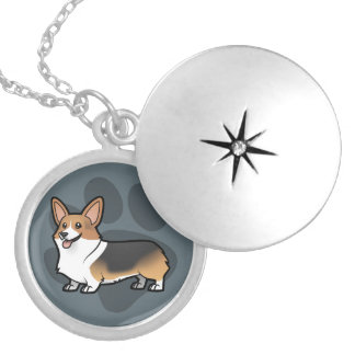 Design Your Own Pet Silver Plated Necklace