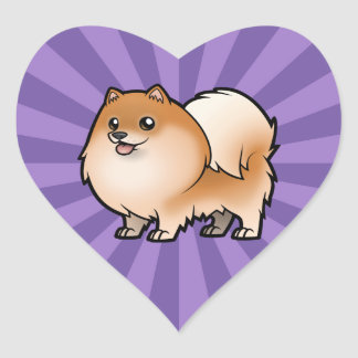 Design Your Own Pet Heart Sticker