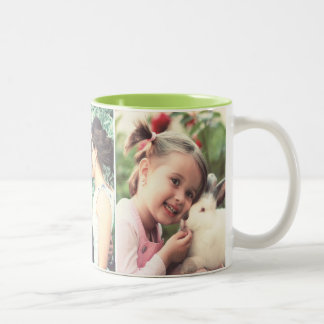 Design your own photo Two-Tone coffee mug