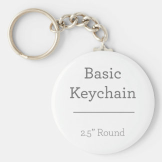 Design Your Own Round Photo Keychain