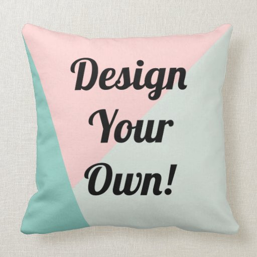 Design Your Personalized Gifts Throw Pillow