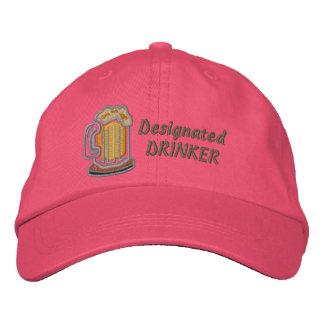 Designated Drinker Funny Beer Baseball Cap