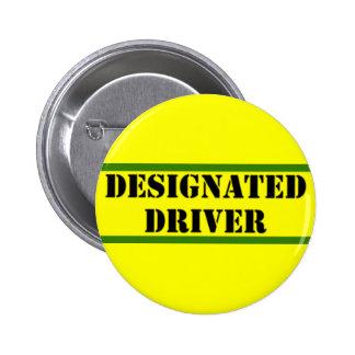 Designated Driver 6 Cm Round Badge