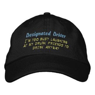 Designated Driver, Embroidered Baseball Cap