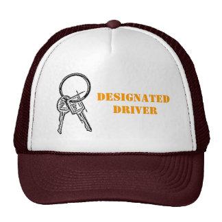 Designated Driver Hats
