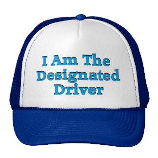 Designated Driver in Blue Hat