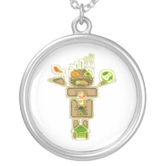 DESIGNATED DRIVER Jewel Gift Round Pendant Necklace