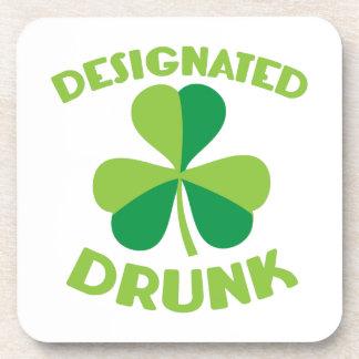 Designated DRUNK Drink Coasters