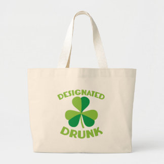 Designated DRUNK Large Tote Bag