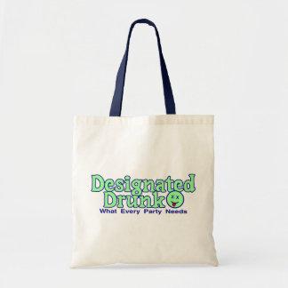 Designated Drunk Canvas Bags