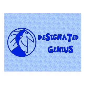 Designated Genius Post Card