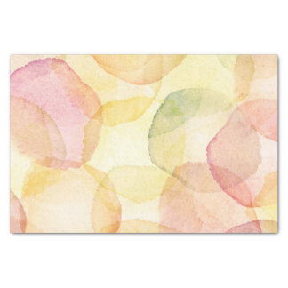 Designed abstract background with watercolor tissue paper