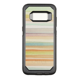 Designed art background. Used watercolor OtterBox Commuter Samsung Galaxy S8 Case
