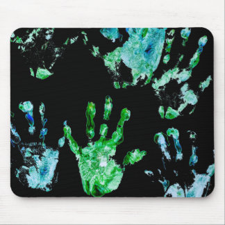 Designed by a Kid Palm Print Mouse Pad