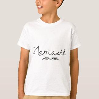 Designed Namaste Yoga T-Shirt