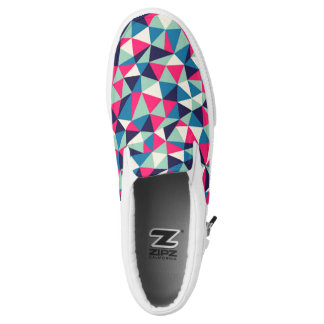 Designed Slip On Shoes Printed Shoes