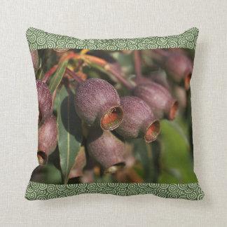 Designer Australian Native Gumnuts Pillow