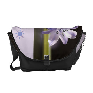 Designer Bluebell Blue Medium Bag Commuter Bag