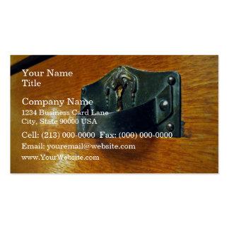 Designer cabinet handles pack of standard business cards