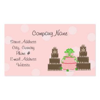 Designer Cakes Pack Of Standard Business Cards