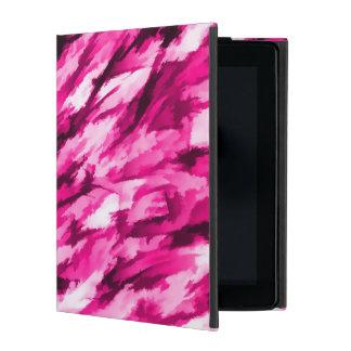 Designer Camo in Hot Pink iPad Cases