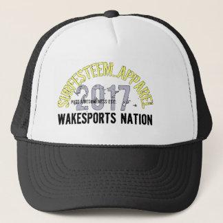Designer Cap, SURFESTEEM_APPAREL brand. Trucker Hat