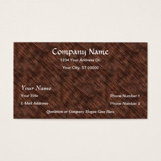 Designer Closeup Wood Grain Business Cards