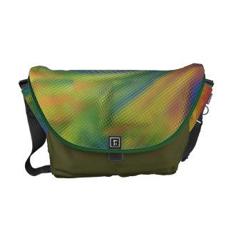 Designer Colorful Rickshaw Messenger Bag
