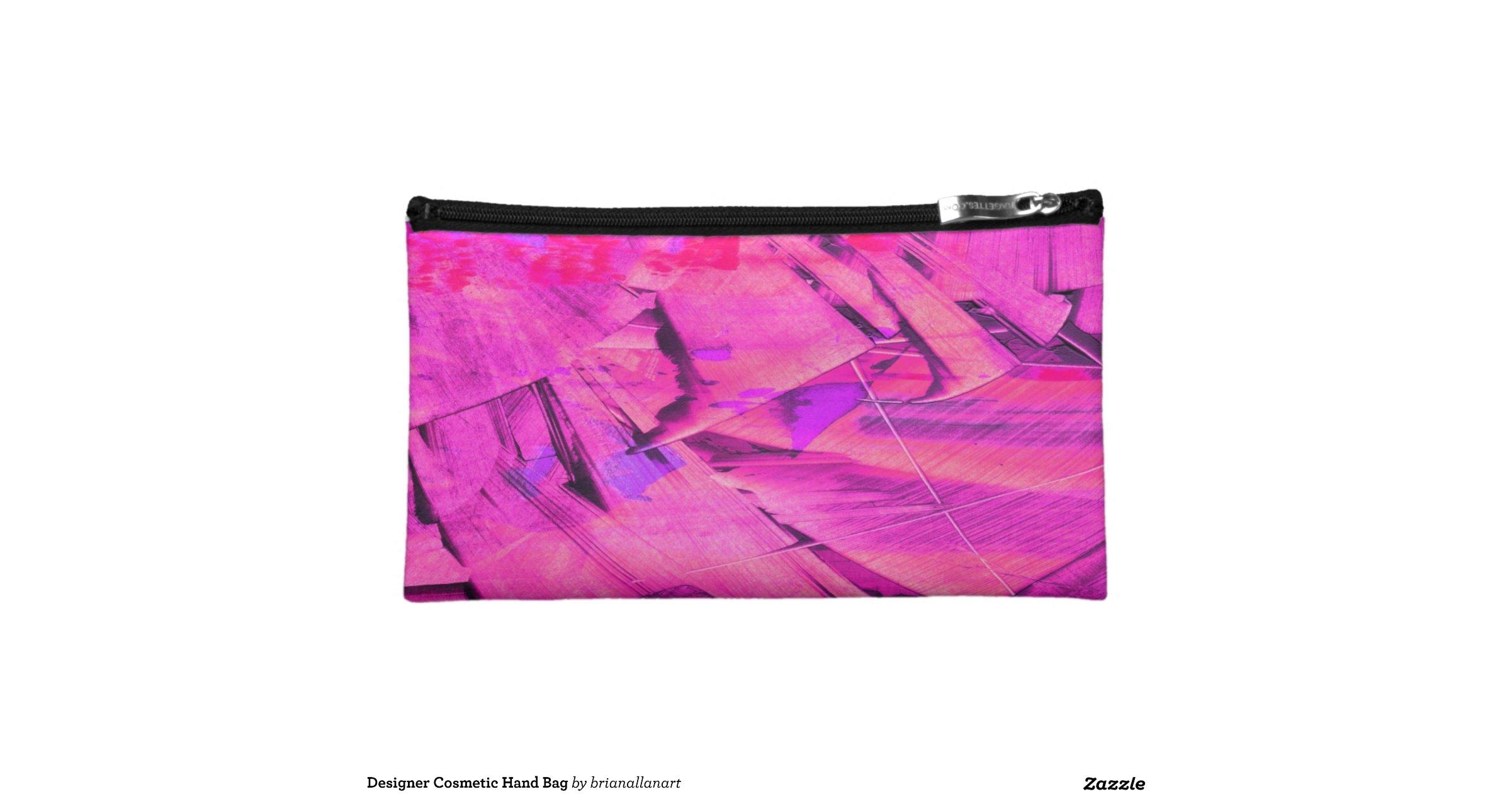 designer cosmetic bag cosmetic bag zazzle