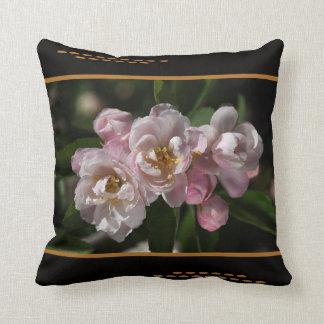 Designer Crabapple Flowers Pillow