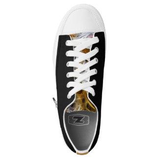 Designer custom black lowtops converse Sneakers